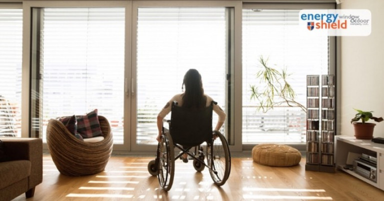 Woman in a wheelchair - Automatic Doors Can Benefit People with Mobility Issues