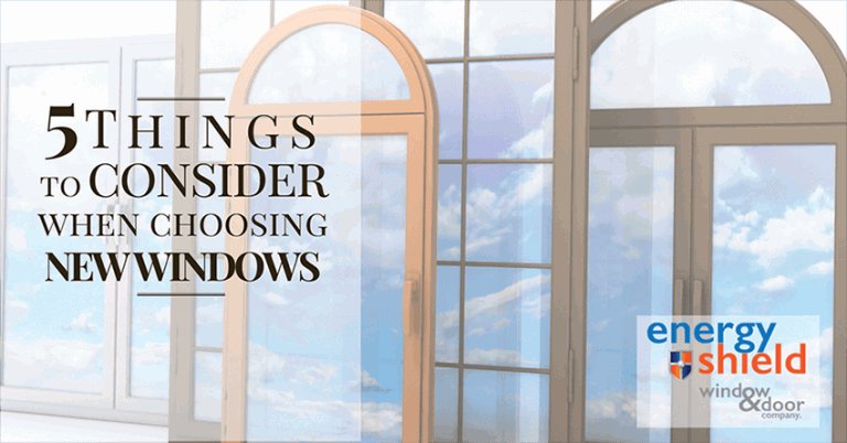 Choosing new windows
